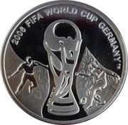 1 Lari (Coupe du monde de football Allemagne 2006) – revers