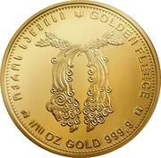 10 lari - Toison d'or – avers