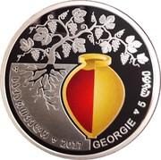 5 Lari (Vin géorgien) – avers