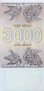 3,000 Kuponi – revers
