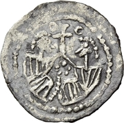 ¼ siliqua Au nom d'Anastasius I, 491-518 (Sirmium) – revers