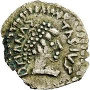 ¼ siliqua Au nom d'Anastasius I, 491-518 & Theoderic, 475-526 (Sirmium) – avers