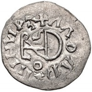 ¼ siliqua Au nom de Justin I, 518-527 & Theoderic, 475–526 (Sirmium; S régulière avec buste plat) – revers