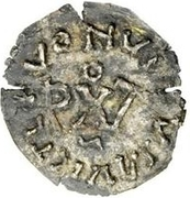¼ silique Au nom d'Anastase I, 491-518 & Théodoric, 475-526 (Sirmium; buste face à droite) – revers