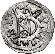 ¼ siliqua Au nom d'Anastasius I, 491-518 & Theoderic, 475-526 (Sirmium; S régulière avec buste face à gauche) – revers