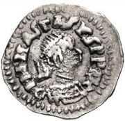 ¼ siliqua Au nom d'Anastasius I, 491-518 & Theoderic, 475-526 (Sirmium; S horizontal) – avers