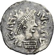 ¼ siliqua Au nom d'Anastasius I, 491-518 (Sirmium) – avers