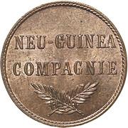 1 pfennig - Wilhelm II – avers