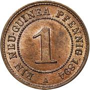 1 pfennig - Wilhelm II – revers