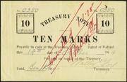 10 Marks (Australian occupation; treasury note) – avers