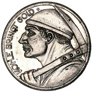 ½ mark (Düren; mineur avec devise) – revers