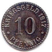10 Pfennig (Cassel) – revers