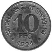 10 Pfennig (Spremberg) – avers