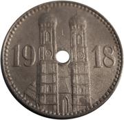 15 pfennig (München) – revers