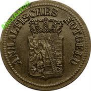 25 Pfennig (Anhalt) [Herzogtum bzw. Freistaat] – avers