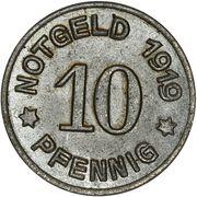 10 Pfennig (Lüdenscheid) – revers