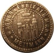 5 pfennig (Mettmann) – avers
