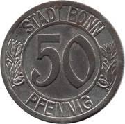 50 pfennig (Bonn; Ludwig van Beethoven) – avers