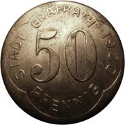 50 pfennig (Gräfrath) – avers