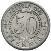 50 pfennig (Menden) – revers
