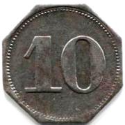 10 Pfennig (Ahrweiler) – revers