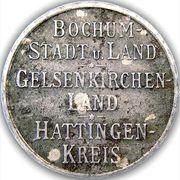 50 Pfennig (Bochum, Gelsenkirchen, Hattingen) – avers