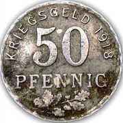 50 Pfennig (Bochum, Gelsenkirchen, Hattingen) – revers