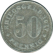 50 Pfennig (Wattenscheid) – revers