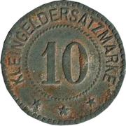 10 pfennig nécessité (Annweiler) – revers