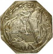 50 Pfennig (St Georgen im Schwarzwald) [Stadt, Baden] – revers