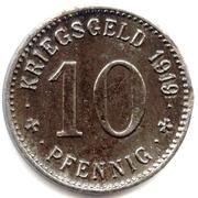 10 pfennig (Wattenscheid) – revers