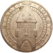 25 Pfennig - Stadt Soest – avers
