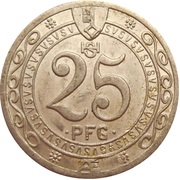 25 Pfennig - Stadt Soest – revers