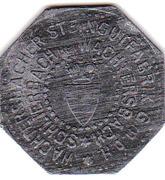 10 Pfennig (Wächtersbacher Steingutfabrik GmbH) – avers