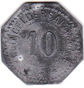 10 Pfennig (Wächtersbacher Steingutfabrik GmbH) – revers