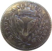 50 pfennig (Saalfeld an der Saale) – avers