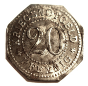 20 pfennig (Schwarzburg-Sonderhausen) – revers