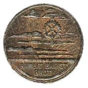 10 pfennig (Frankenthal) – revers