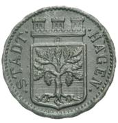 50 Pfennig Hagen – avers
