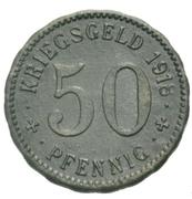 50 Pfennig Hagen – revers