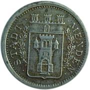 50 Pfennig (Menden Westphalia)) – avers