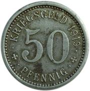 50 Pfennig (Menden Westphalia)) – revers