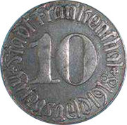 10 Pfennig (Frankenthal) – avers