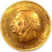 50 millions de marks (Westfalen; Freiherr vom Stein) – revers