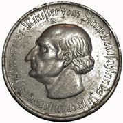 50 Millionen Mark Westfalen; Freiherr vom Stein – revers