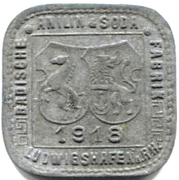 10 Pfennig (ludwigshafen) – avers