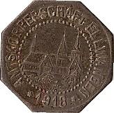10 pfennig (Ellwangen) – avers