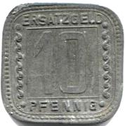10 Pfennig (ludwigshafen) – revers
