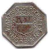 10 pfennig (Horb) – avers