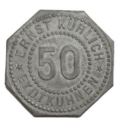 50 Pfenning (Eydtkühnen - Ernst Kühlich) – avers